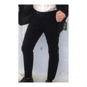 pantalone nero di velluto fatto in sardegna