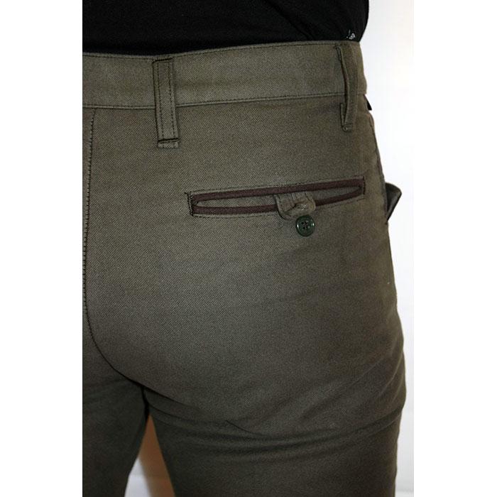 Pantalone Verdemarrone Vellusar Abbigliamento Bicolore Fustagno 0S0qwZvO