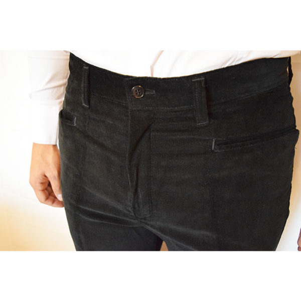 Pantalone Visconti Elastico Liscio Zip