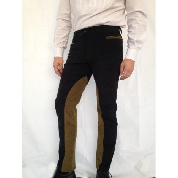 pantalone sardo modello fantino con rinforzi interno coscia