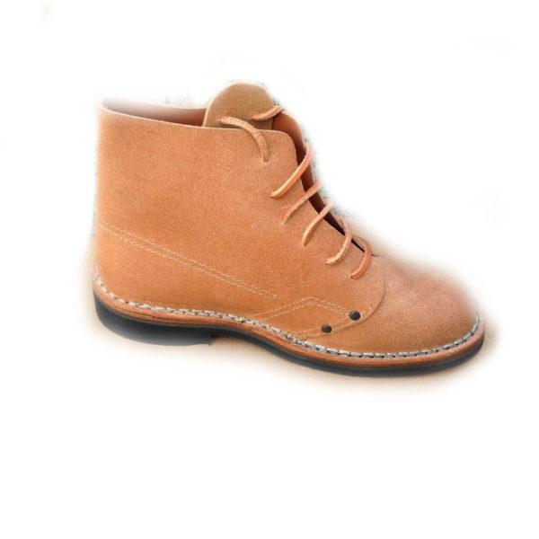 scarpe pelle vacchetta stile sardo