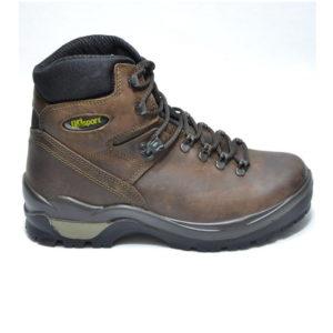 scarpe trekking in pelle morbida e impermeabile con suola in gomma