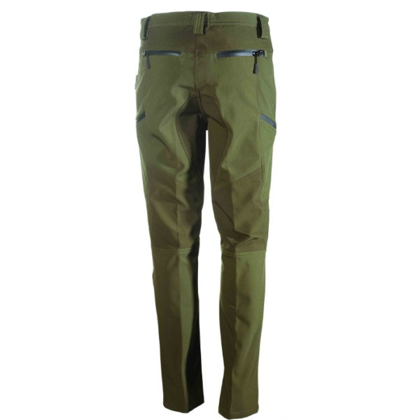 pantalone in softshell antivento e impermeabile