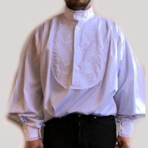 camica costume sardo da uomo