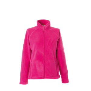 giacca donna pile fuxia