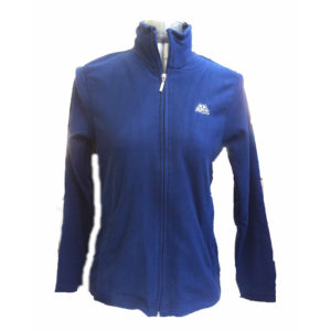 giacca micropile donna blu