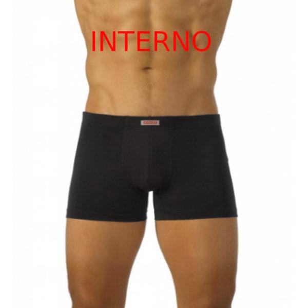 boxer da uomo in cotone wanted con elastico interno