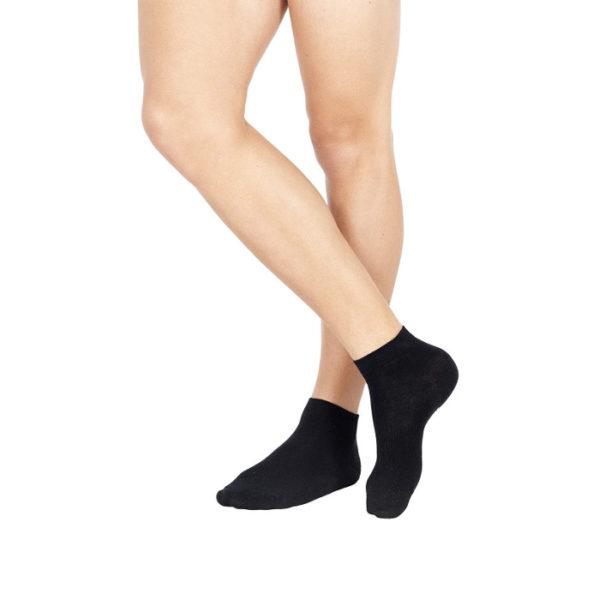 calza corta in cotone