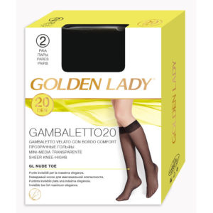gambaletto donna in nylon golden lady 20 denari