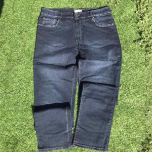 jeans da uomo elastico con tasche e zip
