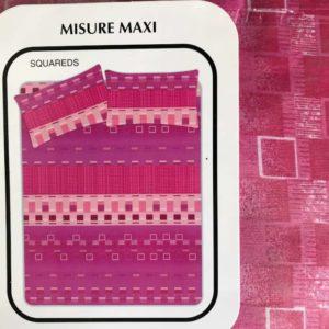 completo letto in cotone singolo rosa