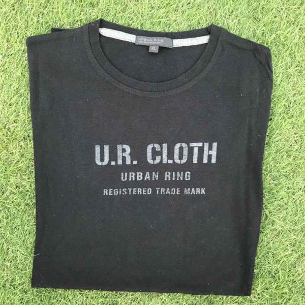 maglietta maniche lunghe in cotone nera