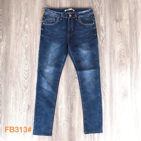 jeans da uomo elasticizzato scuro
