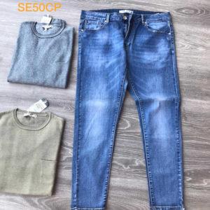 jeans da uomo elasticizzato taglia 50
