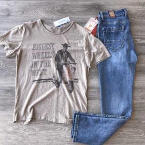 jeans da uomo elasticizzato M8552