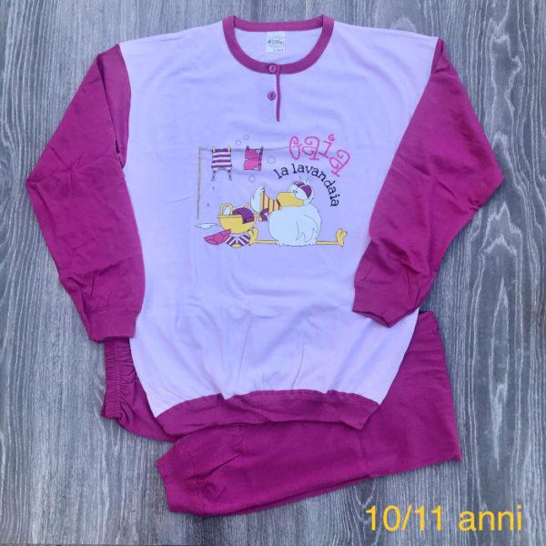 pigiama bimba cotone primavera estate made in italy