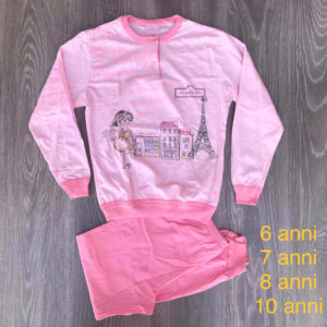 pigiama bimba in cotone made in italy