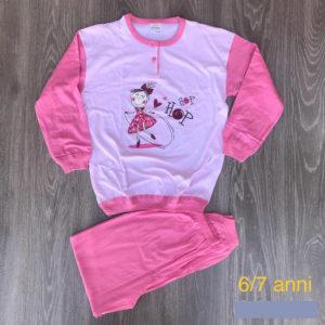 pigiama bimba 6-7 anni in cotone primavera estate