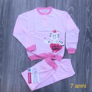 pigiama bimba in cotone primavera estate 7 anni