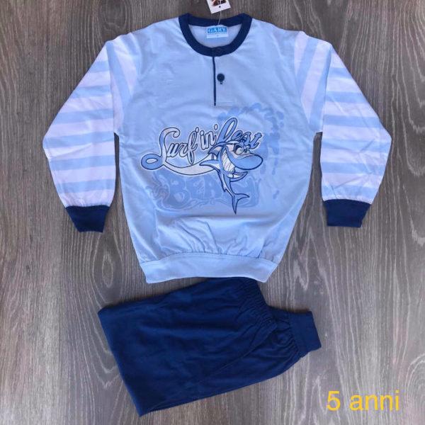 pigiama da bimbo cotone primavera estate made in italy