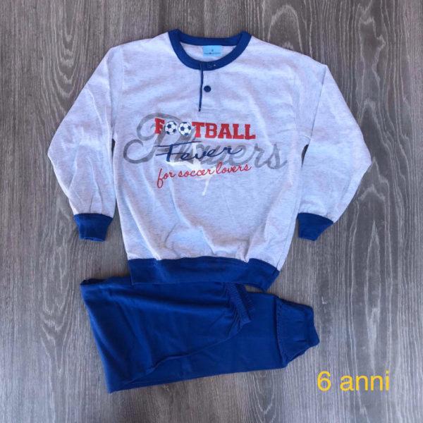 pigiama da bambino in cotone primavera estate made in italy 6 anni