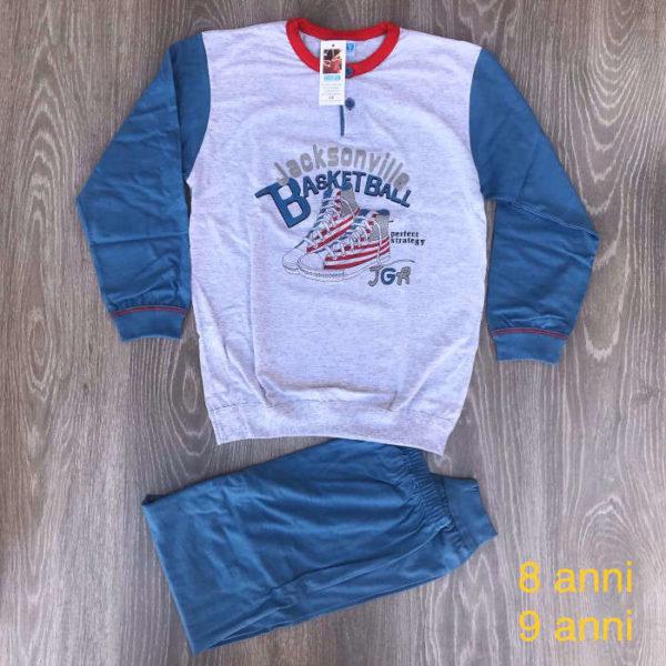 pigiama da bimbo in cotone made in italy primavera estate