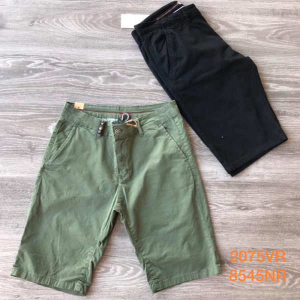 cargo corto nero e verde