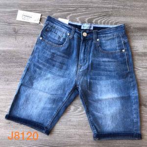 jeans corto elasticizzato art. j8120