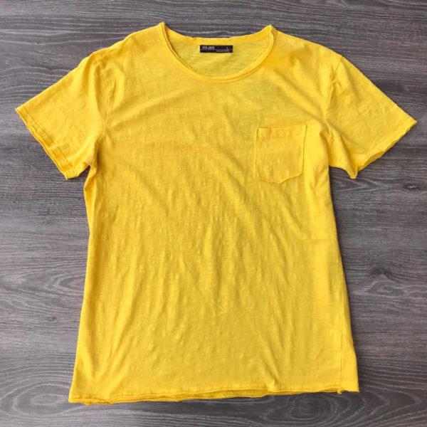 t shirt moda art T611 gialla