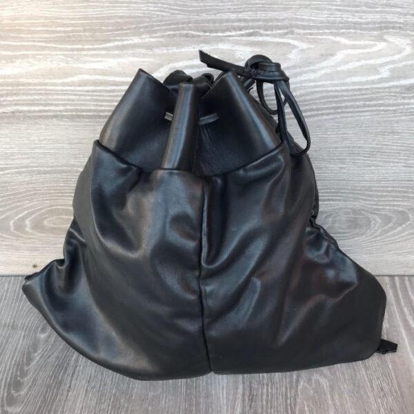 taschedda vacchetta nero lucido 38x60